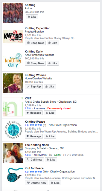 Search for your niche on Facebook and click on pages or groups to find similar groups.